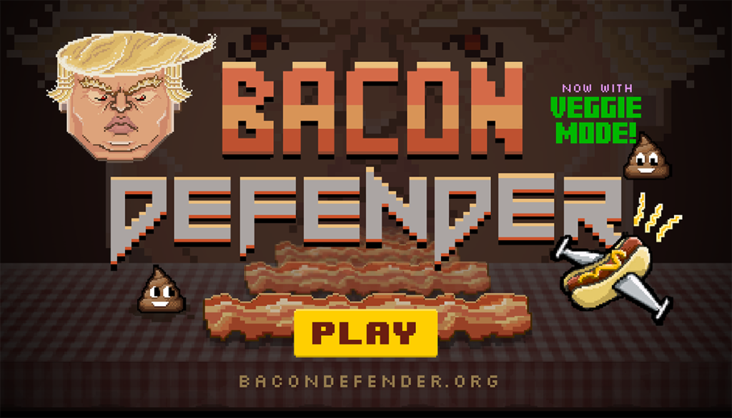 "FIC Launches Satirical Game, ""Bacon Defender"""
