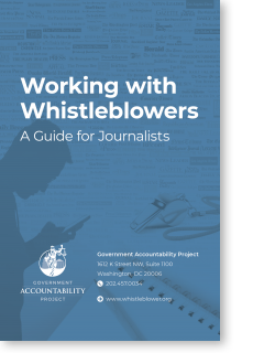 Working with Whistleblowers: A Guide for Journalists
